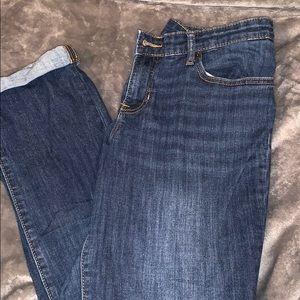 Worn once gap premium boyfriend jeans